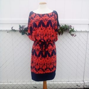 Signature by Sangria patterned dress size 10